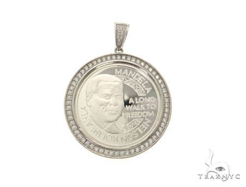 Mandela Coin White 63688 Metal