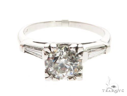 Platinum Prong Diamond Ring 63712 Anniversary/Fashion