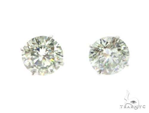 18K White Gold XL Diamond Earrings 63759 Featured Earrings