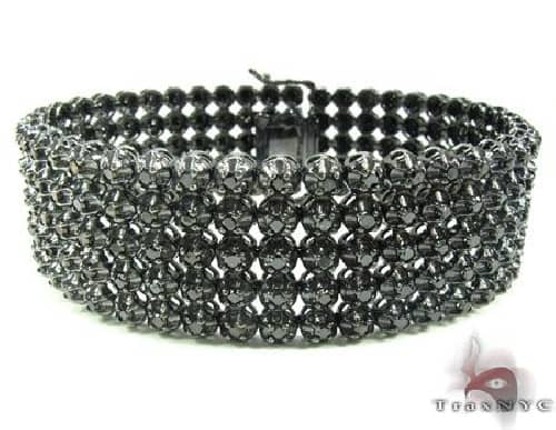 Custom Jewelry - Black Diamond Toni Bracelet 63785 Diamond