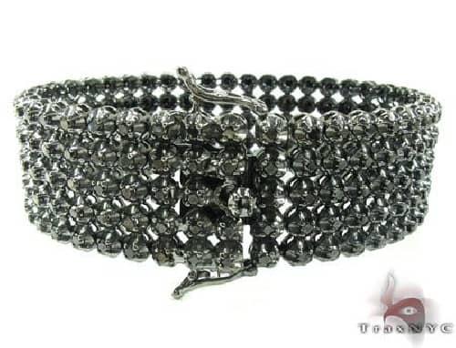 Custom Jewelry - Black Diamond Toni Bracelet 63785 メンズ ダイヤモンド ブレスレット