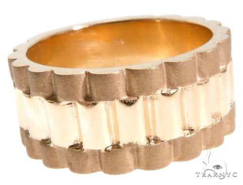 14K Yellow Gold Band 63969 Metal