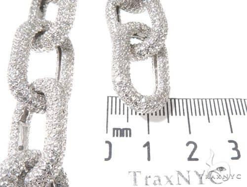 Custom Cable Link Diamond Chain with a Hidden Lock ダイヤモンド チェーン
