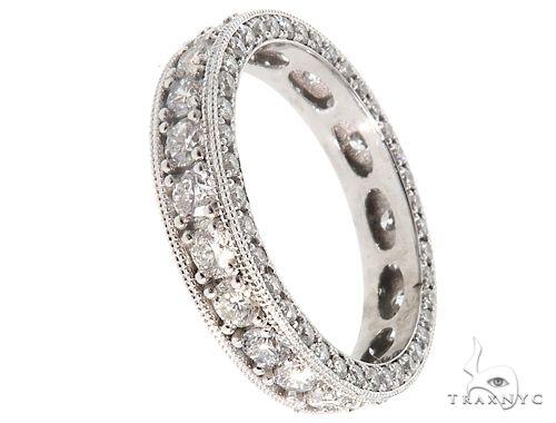 Platinum Diamond Eternity Band 64756 ウェディング