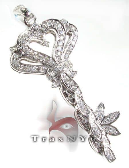 Flower Key Pendant Style