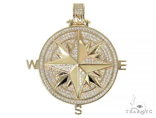 Custom Made Diamond Custom Pendant 66255 Metal