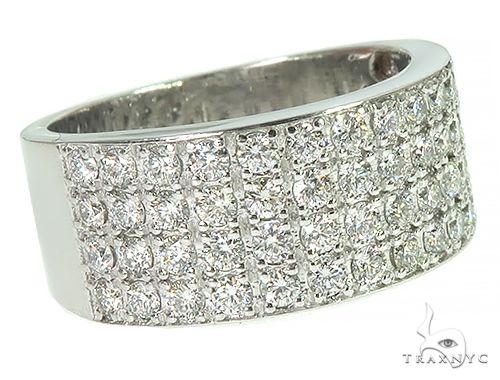 4 Row Icy Ring 26843 Stone