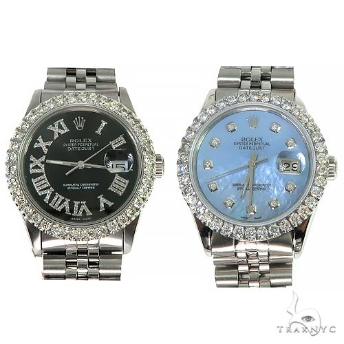 Rolex DateJust 36mm Diamond Bezel Watch 66511 ロレックス ダイヤモンド コレクション