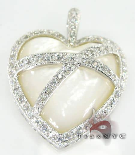 Heart Sterling Silver Pendant 4 Metal