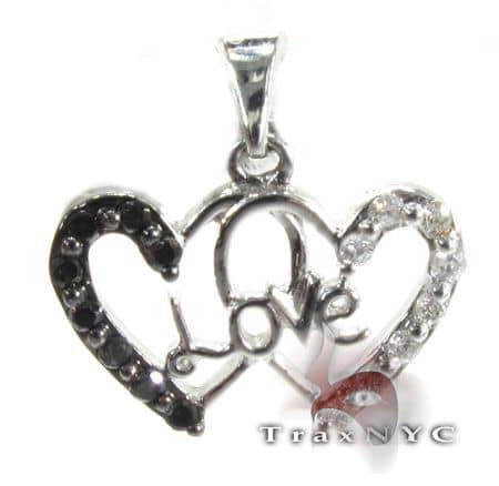 Love Heart Pendant Stone