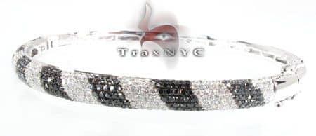 Black Diamond Boa Bracelet Diamond