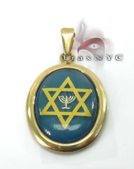 Jewish Star Locket Metal