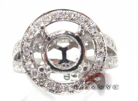 LS 3 Semi Mount Ring Engagement