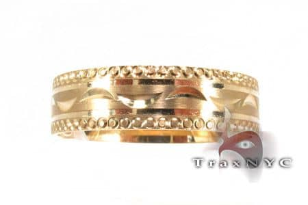 Greek Moon Wedding Band Style