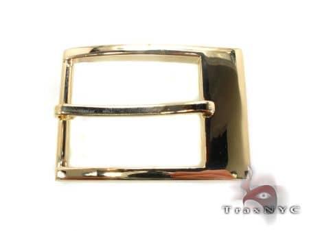Gold Belt Buckle Hip Hop Rings
