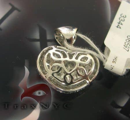 White Diamond Heart Stone