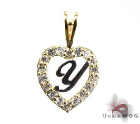 Golden Y Pendant Metal