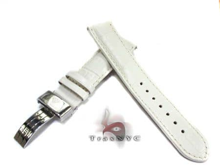 Aquamaster White Leather Band 14mm Watch Accessories