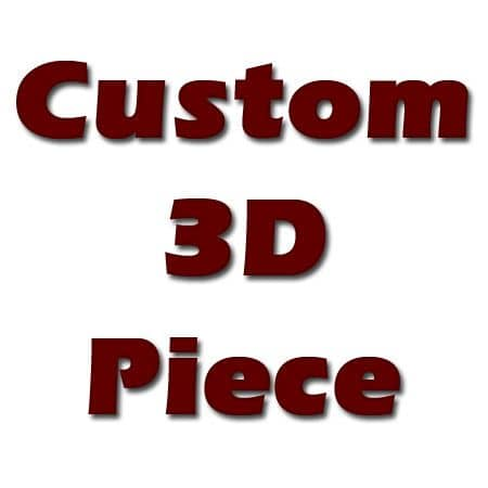 Custom 3D Deposit Hip Hop Pendants