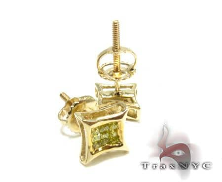 Mini Canary Earrings Stone