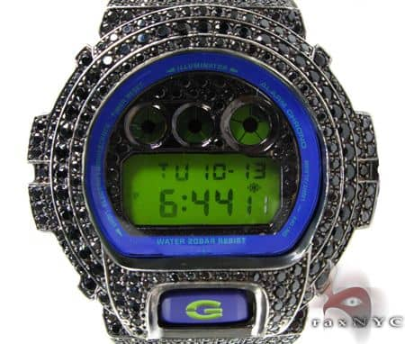 Black Gold G-Shock Illuminator Case G-Shock