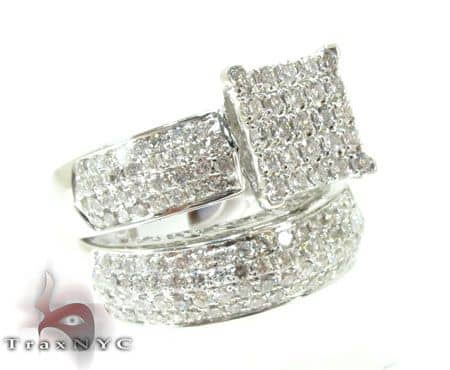Beverly Wedding Ring Set Engagement