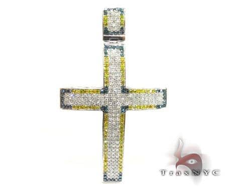 Mini Blue Corner YW Cross Diamond