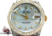 Rolex Datejust Steel and Yellow Gold 116203 ロレックス ダイヤモンド コレクション