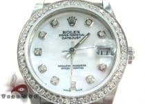 Rolex Datejust Steel 178384 MDJ ロレックス ダイヤモンド コレクション