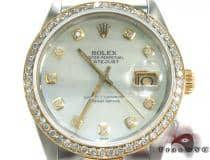 Rolex Datejust Steel and Yellow Gold 16243 ロレックス ダイヤモンド コレクション
