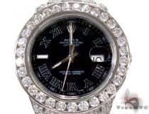 Diamond Rolex Datejust II White Gold and Steel 116334 bkrio ロレックス ダイヤモンド コレクション