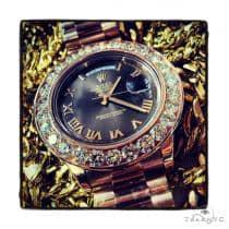 Rose Gold Day-Date Presidential Diamond Rolex Watch ロレックス ダイヤモンド コレクション