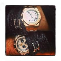Audemars Piguet Royal Oak Offshore 18K Rose Gold Watch Audemars Piguet オーデマピゲ