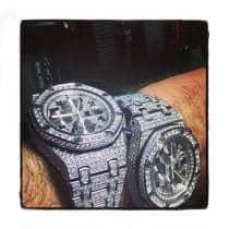Audemars Piguet Royal Oak Offshore Full Diamond Watch Audemars Piguet オーデマピゲ