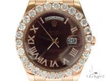 Pave Diamond Rolex Day Date II Watch 42349 ロレックス ダイヤモンド コレクション