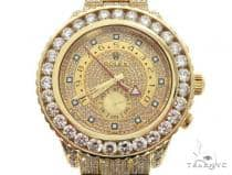 ROLEX 18k GOLD YACHTMASTER II 2 WATCH MODEL  116688 FULL DIAMOND WATCH 63741 ロレックス ダイヤモンド コレクション