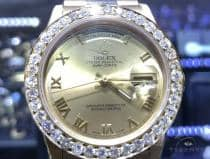 Diamond Rolex Day Date 63862 ロレックス ダイヤモンド コレクション