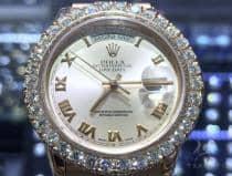 36mm Day-Date I Diamond Rolex Watch 63864 ロレックス ダイヤモンド コレクション