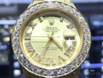 36mm Day-Date Diamond Rolex Watch Iced Out 63865 ロレックス ダイヤモンド コレクション