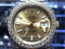 41mm DateJust Diamond Rolex Watch Jubilee 63870 ロレックス ダイヤモンド コレクション
