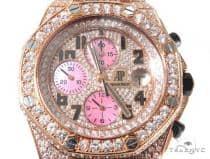 18Kt Rose Gold Full Diamond Audemars Piguet Royal Oak Offshore Watch Audemars Piguet オーデマピゲ