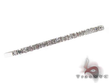 1 Row Diamond Ring 20448 Wedding