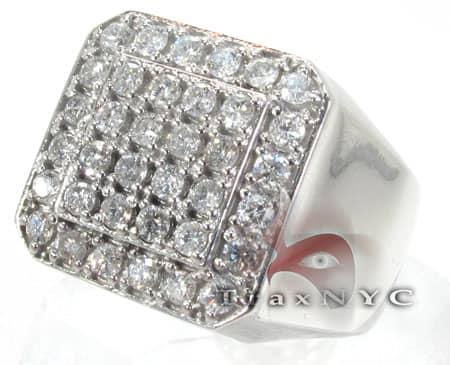 Mens Heavy 10k Gold Pinky Ring Stone