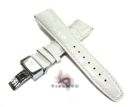 Aquamaster White Leather Band 20mm Watch Accessories