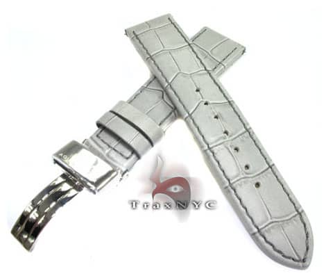 Aquamaster Grey Leather Band 20mm Watch Accessories