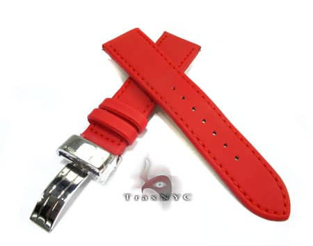 Aquamaster Red Polyurethane Band 14mm Watch Accessories