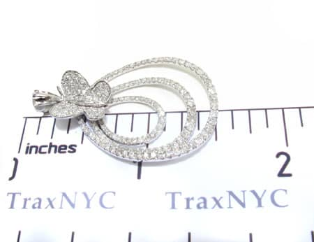 Radiant Butterfly Pendant Stone