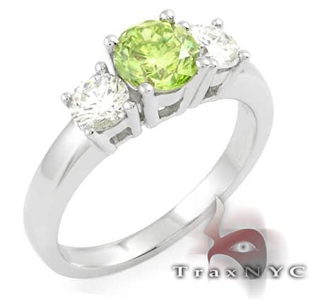 Ladies Green Fantasy Ring Anniversary/Fashion