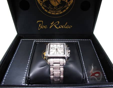 Joe Rodeo Madison JRMD 4 White Dial Joe Rodeo & JoJo