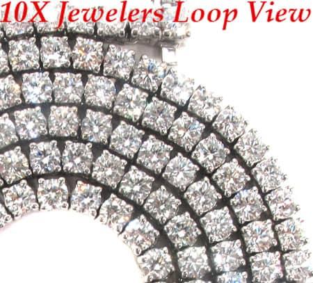 Hustler Chain 33 Inches, 5mm, 84.80 Grams Diamond